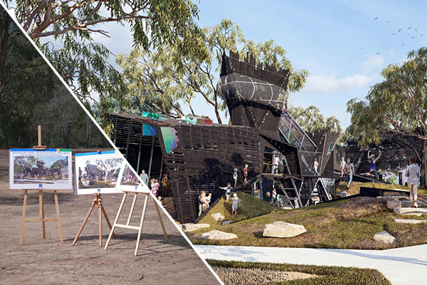 Article image for 'An absolute ripper': One-of-a-kind upgrade planned for Brisbane park