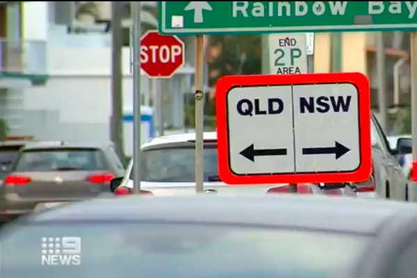 Article image for NSW-Queensland border bubble back on after COVID scare
