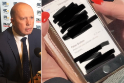 Peter Dutton addresses Qld Health Minister's stray text saga