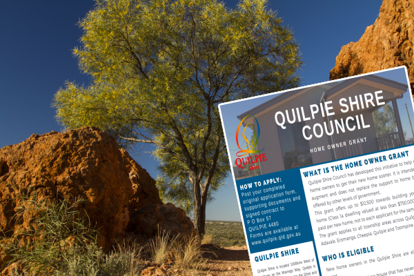Article image for Outback community's cashback plan to lure newcomers to the town