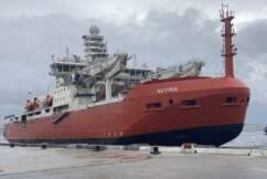 The arrival of Australia's new Antarctic icebreaker