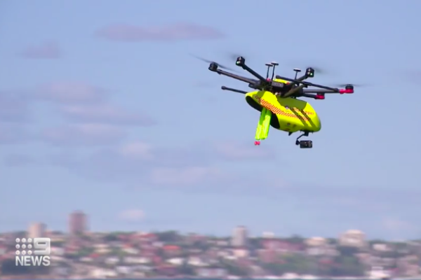 Article image for How drones will patrol Queensland beaches this summer